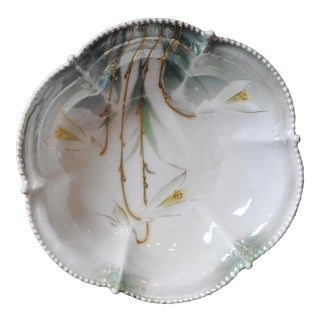 Rare Antique Hand Painted Rs Prussia Bowl :1880-1918