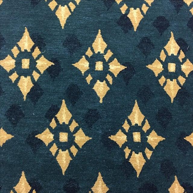"""Hand Woven Tibetan Oriental Runner - 2'6"""" X 8'11"""" - Image 3 of 5"""