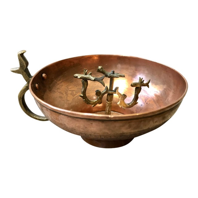 Turkish Hammam Copper Cup For Sale