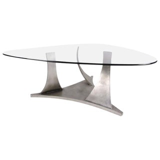 Sculptural Contemporary Modern Coffee Table For Sale