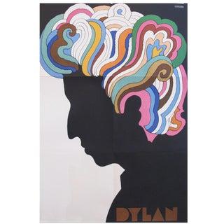 1966 Original Bob Dylan Silhouette Poster by Milton Glaser