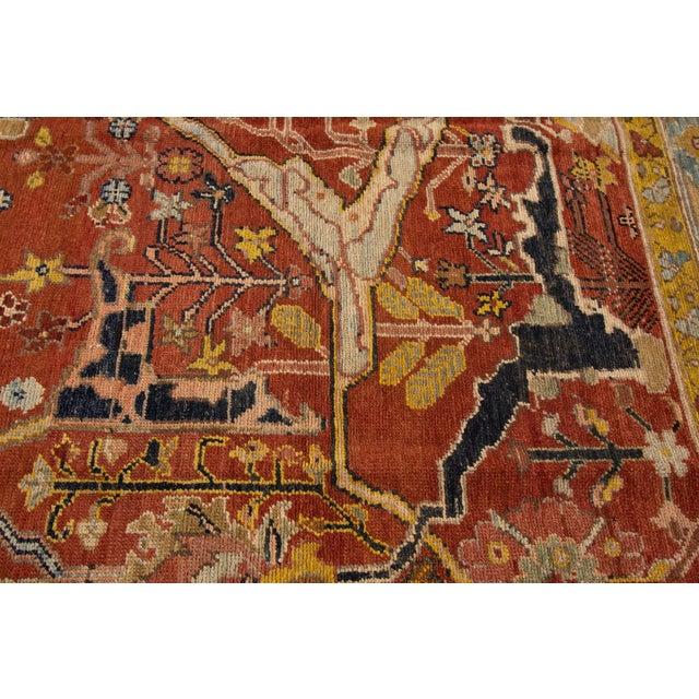 "Vintage Persian Tribal Bakshaish Rug, 7'4"" X 9'4"" For Sale - Image 4 of 11"