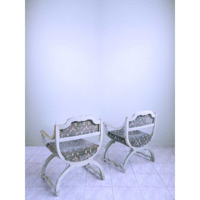 1940s Louis XVI Provincial Chairs - A Pair For Sale - Image 5 of 12