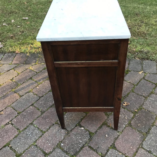 1960s French Empire Style Commode For Sale - Image 4 of 10