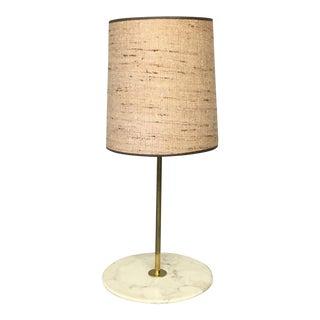 Adrian Pearsall Marble Table Floor Lamp