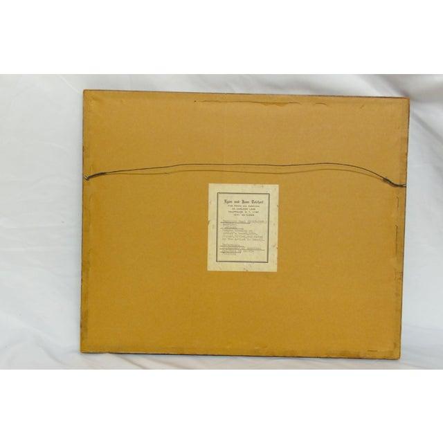 """""""Rockport"""" Signed Dated Original by ReynoldsBeal For Sale - Image 9 of 9"""