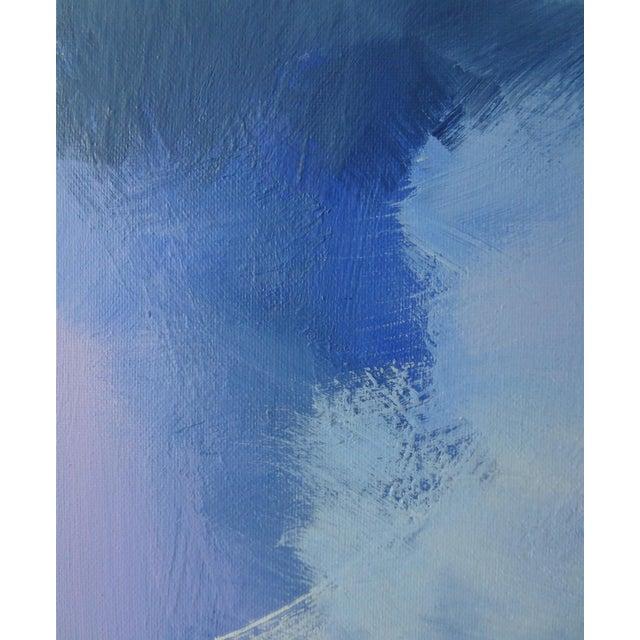 Modern Lavender Bloom - 30 X 40 For Sale - Image 4 of 6