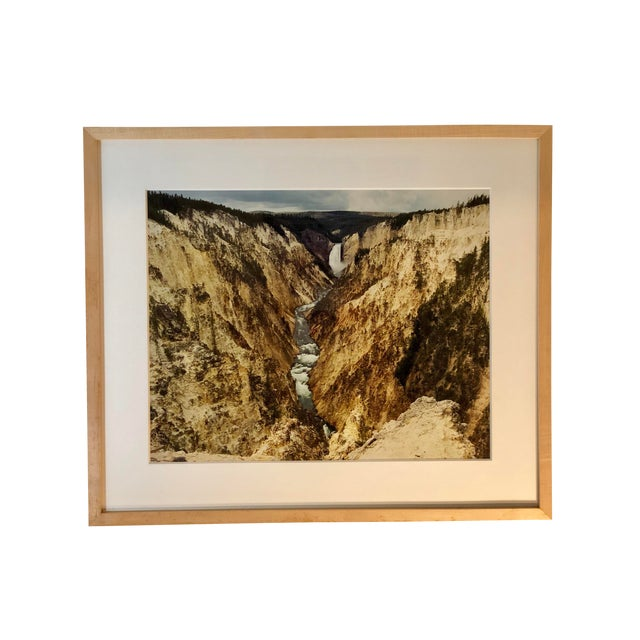 1980s Vintage Original Waterfall Photograph by Willy Skigen For Sale
