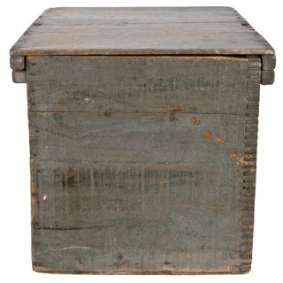 Vintage Wood Egg Storage Box