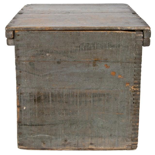 Vintage Wood Egg Storage Box For Sale