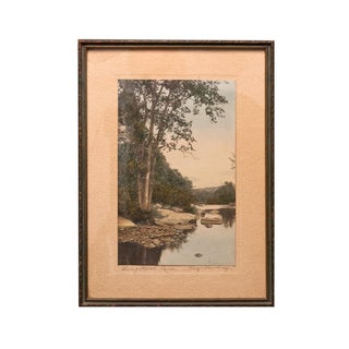 Naugatuck River Landscape Photograph For Sale