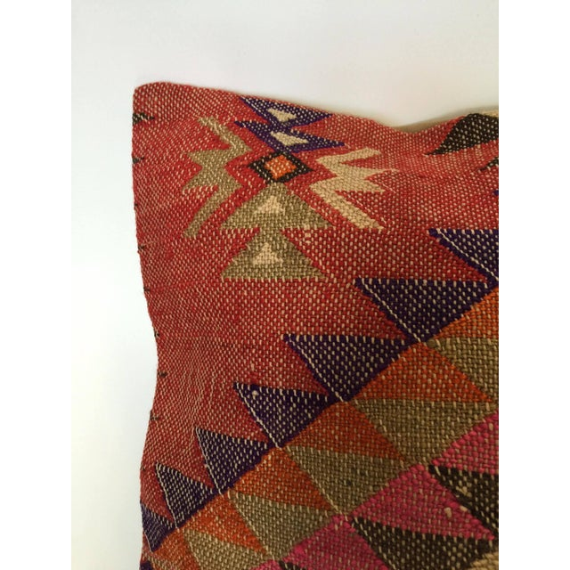 Handmade Kilim Pillow Cover - Image 5 of 6
