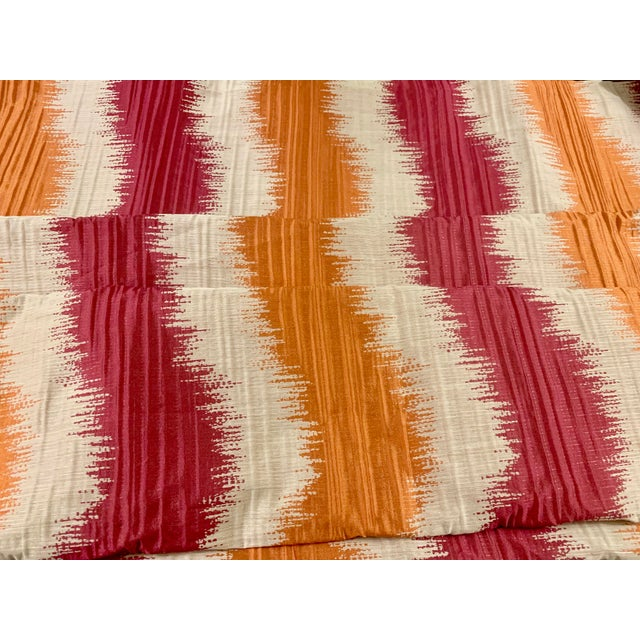 Vintage John Robshaw's Sabai Fabric- 4 Yards For Sale - Image 4 of 4