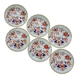 Antique Booths Fresian Bread & Butter Plates - Set of 6 For Sale