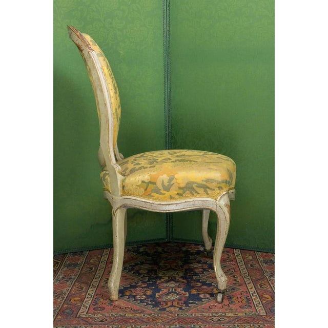 Pair of Louis XV Style Side Chairs For Sale - Image 4 of 11