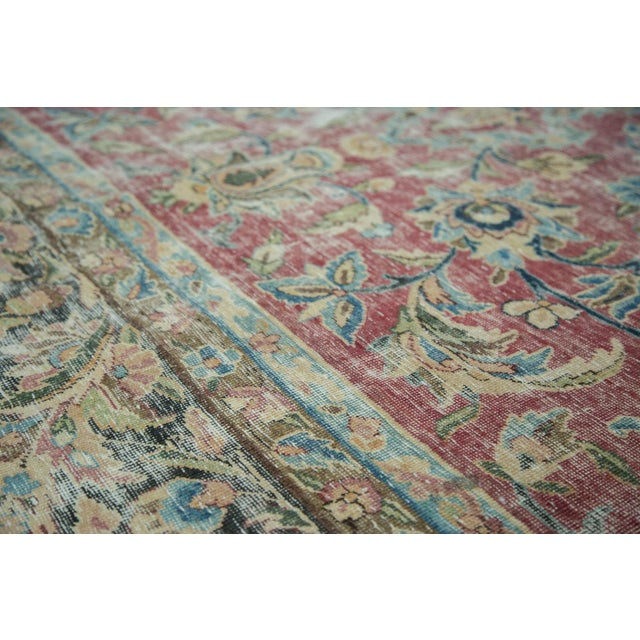 "Islamic Vintage Meshed Carpet - 9'3"" X 13' For Sale - Image 3 of 8"