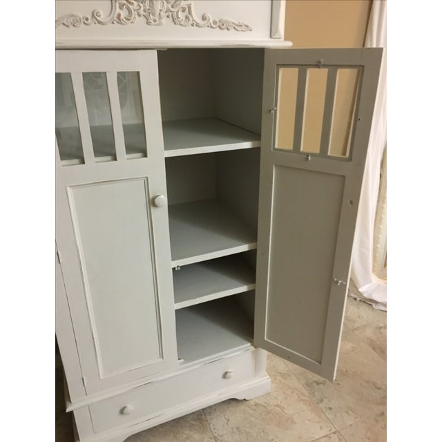 Shabby Chic Cottage Cabinet - Image 6 of 8