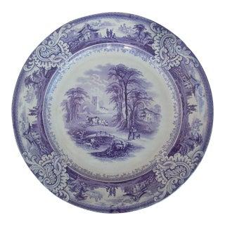 Vintage T.J & J. Mayer Plate For Sale