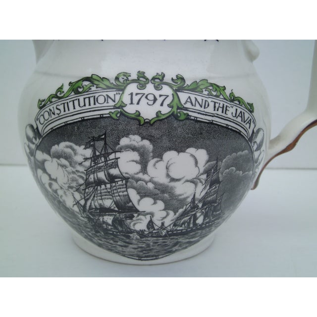 English Transferware & Copper Luster Pitcher - Image 3 of 10