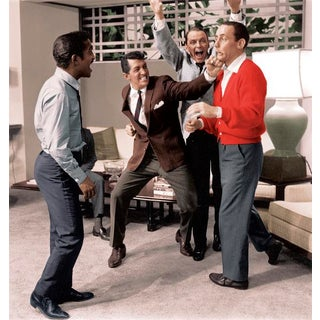 "1960 Sid Avery ""Ocean's Eleven"" Rat Pack Photograph For Sale"