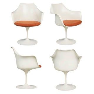 Circa 1959 Eero Saarinen for Knoll Associates Tulip Armchairs - Set of 4