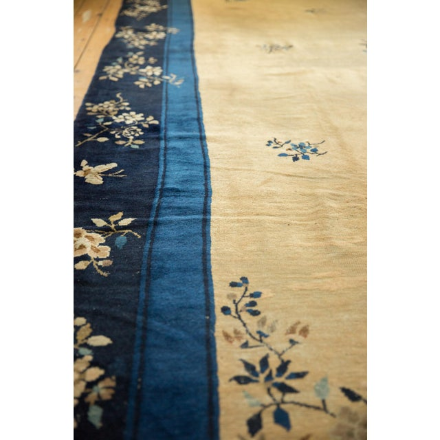 """Vintage Peking Carpet - 9'11"""" X 17'4"""" For Sale In New York - Image 6 of 13"""