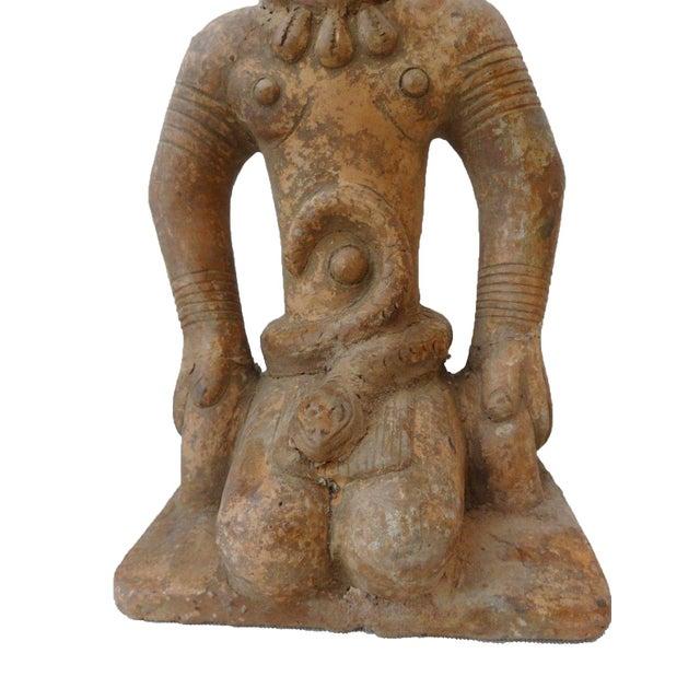 Bamun Male Terracota Figurine For Sale - Image 4 of 8