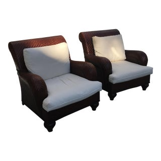 Henry Link Trading Co. Chairs - A Pair