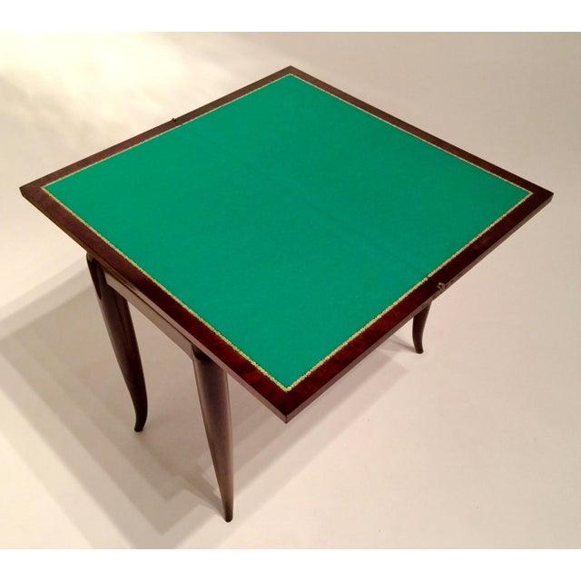 Mercier & Chaleyssin Flip Top Game Table - Image 7 of 9