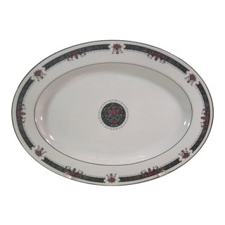 Vintage Fine China Medallion Platter For Sale