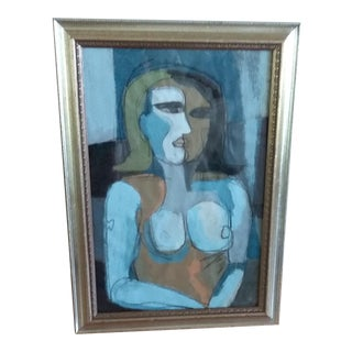 Beth Downey Abstract Figurative Painting For Sale
