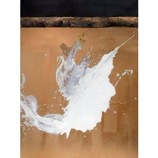 Karen Green Recor 'Gilded I' Painting For Sale