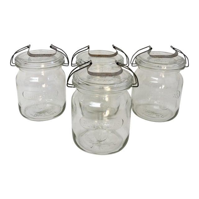 Vintage German Ruhrglass Fruit Jars - Set of 4 For Sale