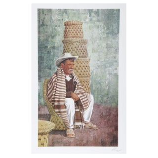 Vic Herman New Baskets Lithograph For Sale