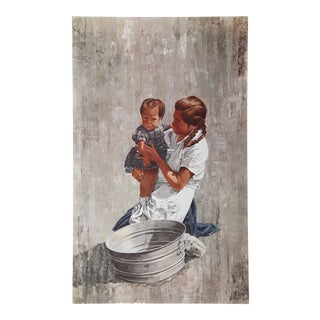 Vic Herman, Mother and Child, Lithograph For Sale