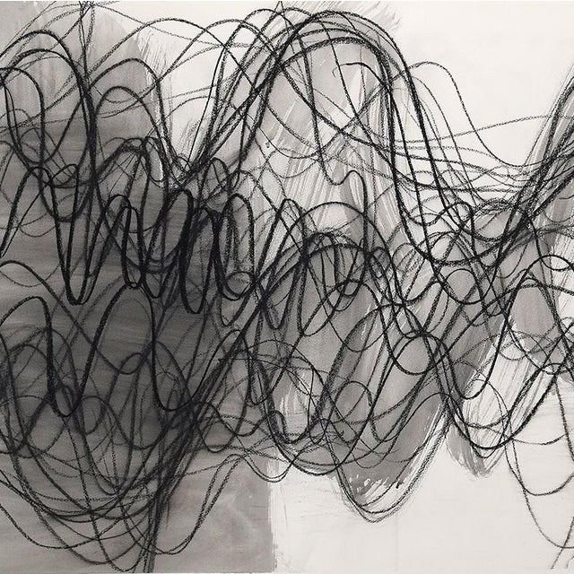 """Abstract Margaret Neill """"Manifest 1"""", Drawing For Sale - Image 3 of 4"""