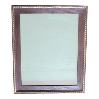 Antique Oak Picture Frame With a Border