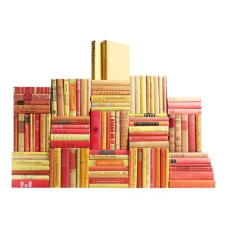 Midcentury Sunburst Book Wall, S/100