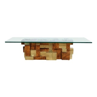 Model Cityscape Coffee Table by Paul Evans for Directional For Sale