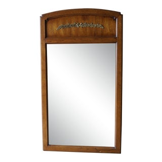 Vintage French Regency Wall Mirror For Sale
