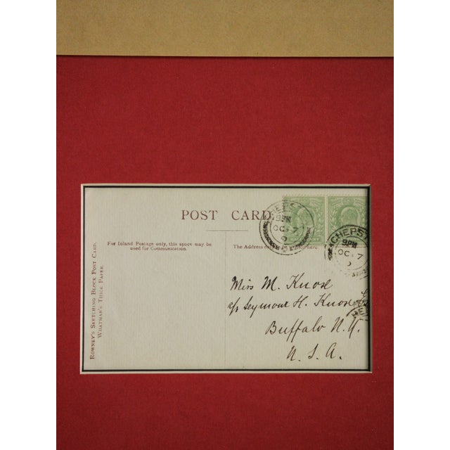 Five Postcard Pen & Ink Drawings, Circa 1910 For Sale - Image 9 of 10