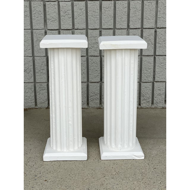 Antique Columns Re-Purposed as Accent Tables - a Pair For Sale In Nashville - Image 6 of 6