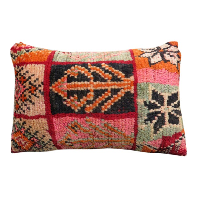 Valencia' Moroccan Berber Wool Pillow For Sale