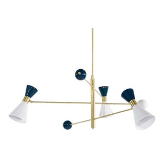 """Campana Three-Arm"" Chandelier For Sale"