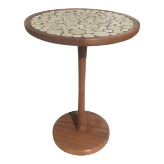 1960s Mid Century Modern Martz Tile Top Side Table