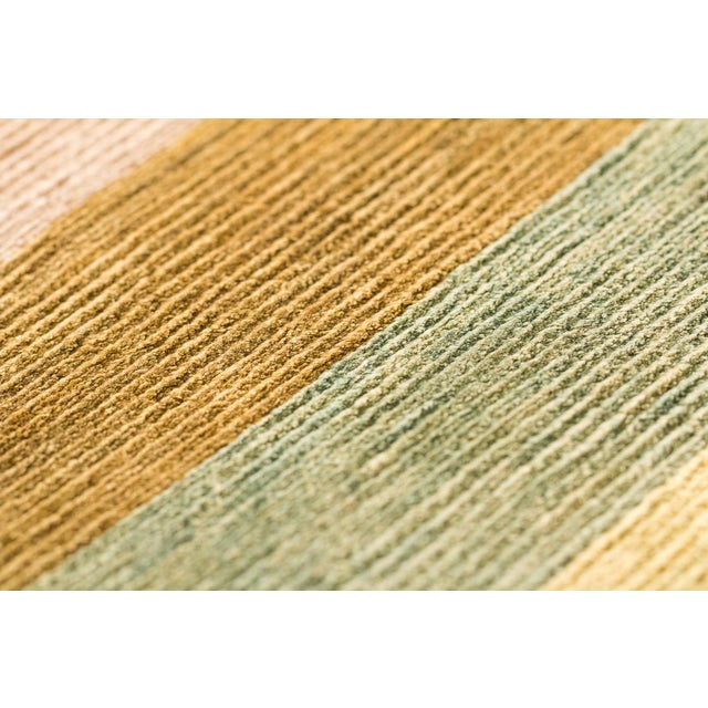 Contemporary Contemporary Silk Multi Colored Area Rug, 9'x12' For Sale - Image 3 of 10