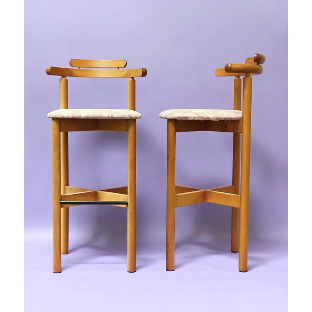 Drawing/Sketching Materials 1970s Danish Modern Gangso Møbler Stools - a Pair For Sale - Image 7 of 7