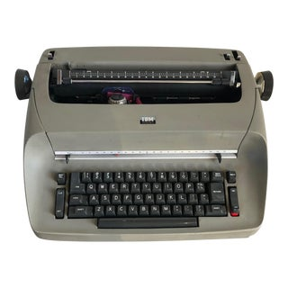 Vintage Ibm Selectra I Electric Typewriter For Sale