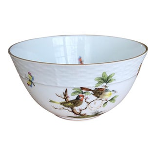 Herend Rothschild Bird Bowl For Sale