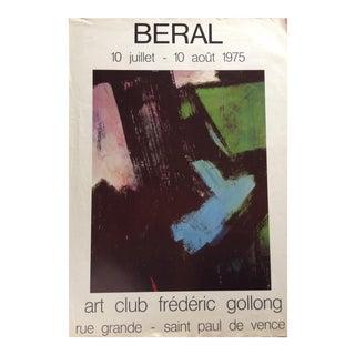 Vintage France Exhibition Poster
